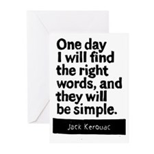 One Day I will Find the Right Words Block Print Gr