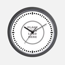 Place Your Logo Here Wall Clock