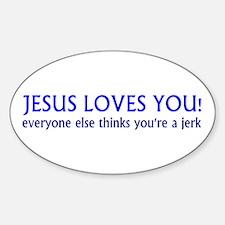 Jesus Loves - Decal