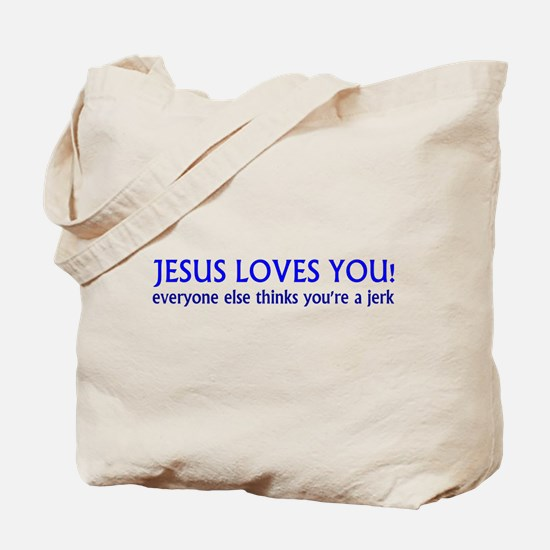 Jesus Loves - Tote Bag