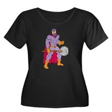 Executioner superhero with axe T