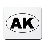 AK (Alaska) Mousepad