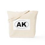 AK (Alaska) Tote Bag