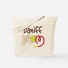 Daniff Dog Mom Tote Bag