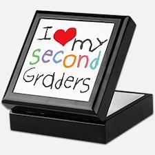 I Love My 2nd Graders Keepsake Box