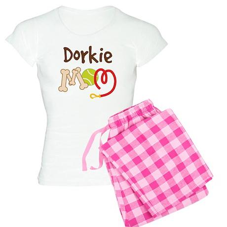 Dorkie Dog Mom Women's Light Pajamas