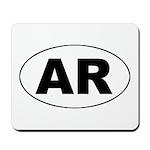 Arkansas (AR) Mousepad