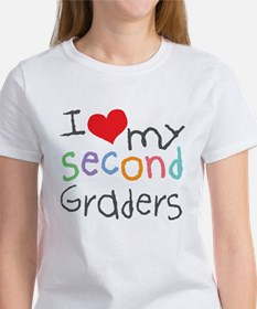 I Love My 2nd Graders Tee