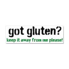 Got Gluten Car Magnet 10 x 3