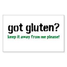 Got Gluten Decal