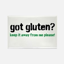Got Gluten Rectangle Magnet
