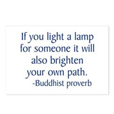 BuddhistLamp Postcards (Package of 8)