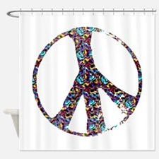 peace sign.png Shower Curtain