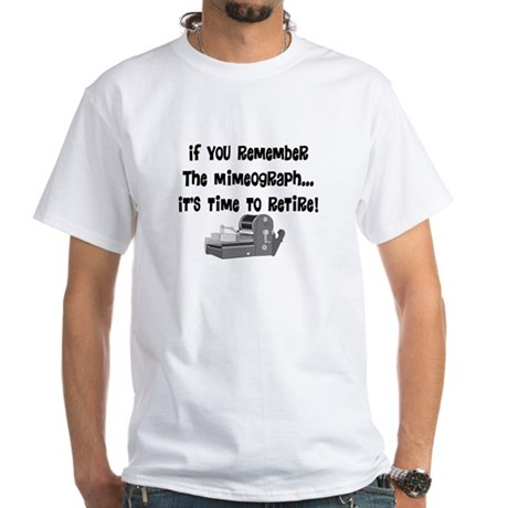 if you remember the mimeograph T-Shirt
