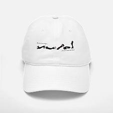 Dachshund - Black and Tan How do I Love Thee Baseball Baseball Cap