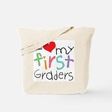 I Love My 1st Graders Tote Bag
