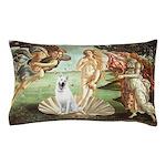 Venus-White German Shep Pillow Case