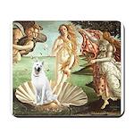 Venus-White German Shep Mousepad