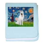 Starry / G-Shep baby blanket