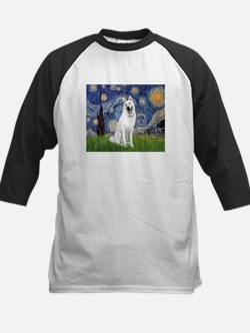 Starry-White German Shepherd Tee