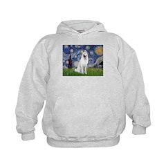 Starry-White German Shepherd Hoodie