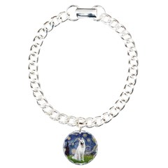 Starry-White German Shepherd Bracelet