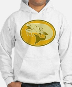 Catfish front side Hoodie