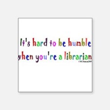 "humble.jpg Square Sticker 3"" x 3"""