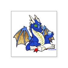 """bluebook1.png Square Sticker 3"""" x 3"""""""