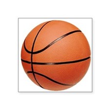 "basketball2.png Square Sticker 3"" x 3"""