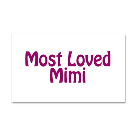 Most Loved Mimi Car Magnet 20 x 12