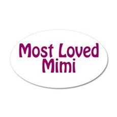 Most Loved Mimi Wall Decal