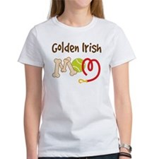 Golden Irish Dog Mom Tee