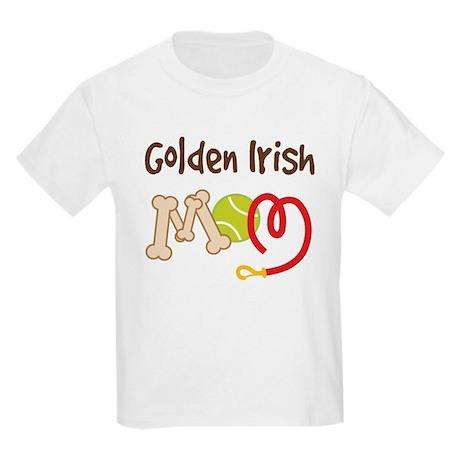 Golden Irish Dog Mom Kids Light T-Shirt