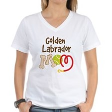 Golden Labrador Dog Mom Shirt