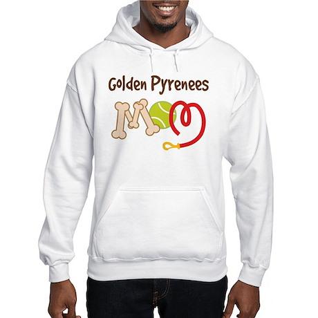 Golden Pyrenees Dog Mom Hooded Sweatshirt