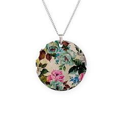 Floral Antique Necklace