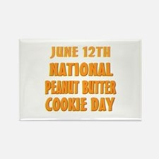 Peanut Butter Cookie Day Rectangle Magnet (100 pac