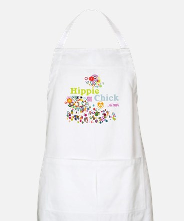 Hippie Chick at Heart Apron