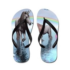 Unicorns Flip Flops