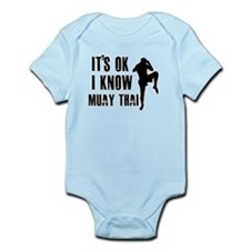 Muay Thai Designs Infant Bodysuit