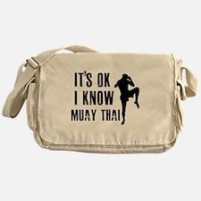 Muay Thai Designs Messenger Bag