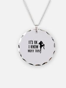 Muay Thai Designs Necklace