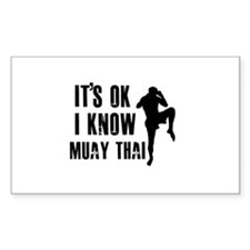 Muay Thai Designs Decal