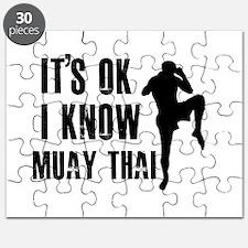 Muay Thai Designs Puzzle