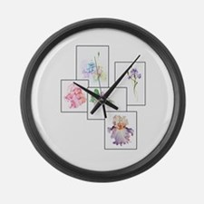 Bouquet Large Wall Clock
