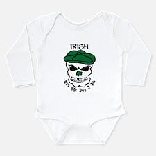 Funny Boston celtic Long Sleeve Infant Bodysuit