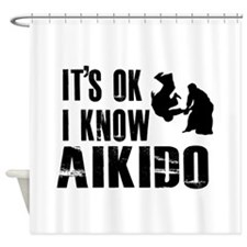 Aikido Designs Shower Curtain