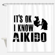 Aikido Designs Shower Curtain