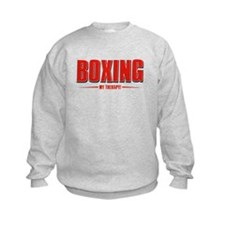 Boxing Designs Sweatshirt